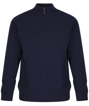 Men's Alan Paine Wilshaw Windblock Half Zip Sweater
