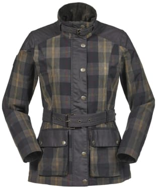 Women's Musto Ashcombe Waterproof Jacket - Woodland Check