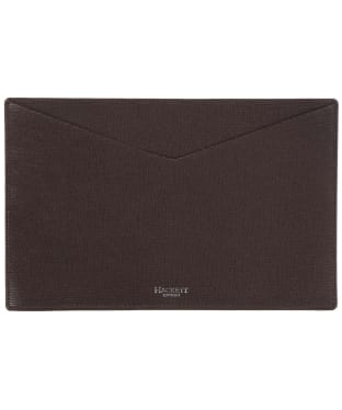 Hackett Curzon Receipt Wallet - Brown