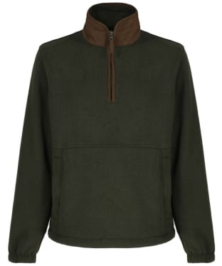 Men's Alan Paine Aylsham Quarter Zip Fleece - Green