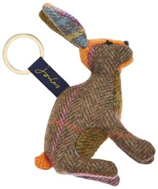 Women's Joules Novelty Keyring - Hare