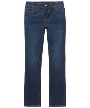 Women's Crew Clothing Straight Jeans - Mid Indigo