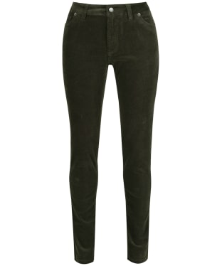Women's Schoffel Cheltenham Cord Trousers - Forest
