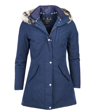 Women's Barbour Epler Waterproof Jacket - Navy