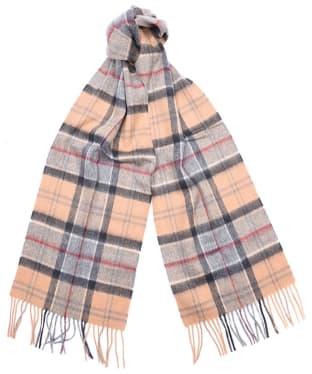 Barbour Tartan Merino Cashmere Wool Scarf - Dress Tartan