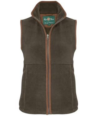Women's Alan Paine Aylsham Fleece Gilet - Green