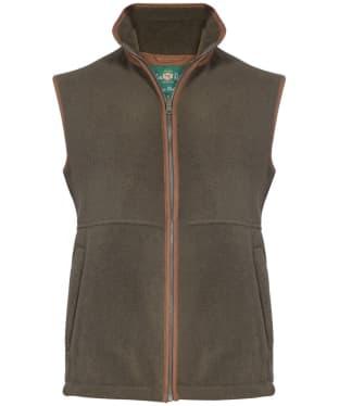 Men's Alan Paine Aylsham Fleece Waistcoat - Green