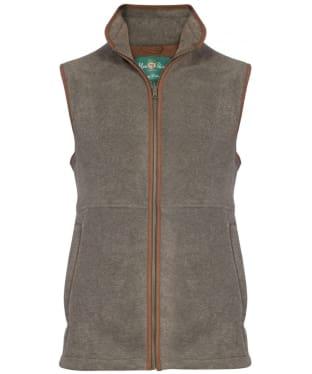 Men's Alan Paine Aylsham Fleece Waistcoat - Olive