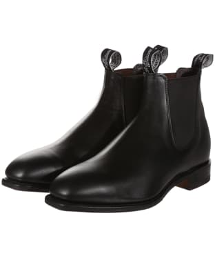 Men's R.M. Williams Dynamic Flex Craftsman Boots - H Fit - Black