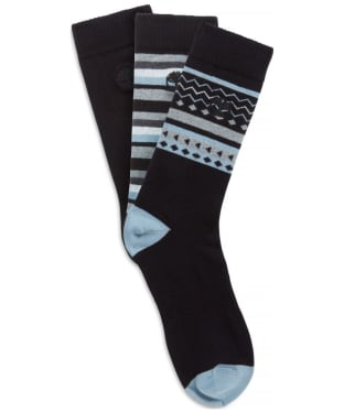 Men's Timberland Crew 3 Pack Socks - Black