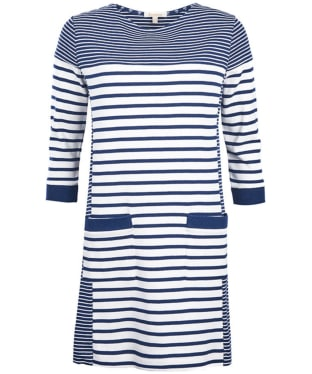 Women's Barbour Rief Dress - Navy / Cloud