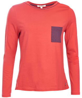 Women's Barbour Hermit Top - Red