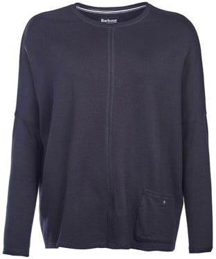 Women's Barbour International Arlen Sweat - Black