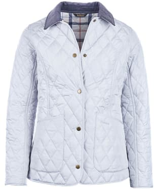 Women's Barbour Spring Annandale Quilted Jacket - Ice White / Summer