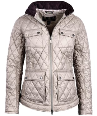 Women's Barbour Dolostone Quilted Jacket - Taupe