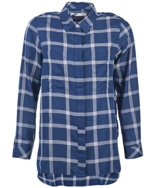 Women's Barbour Kelso Shirt - Navy / Cloud