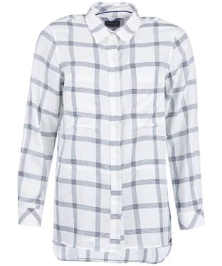 Women's Barbour Kelso Shirt - Cloud / Navy