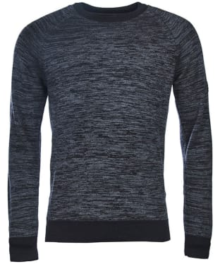 Men's Barbour International Victory Crew Neck - Charcoal