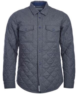 Men's Barbour Huldra Overshirt - Charcoal
