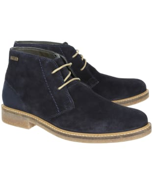 Men's Barbour Readhead Chukka Boots - Navy 3