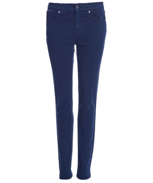 Women's Barbour Essential Slim Trousers - Navy