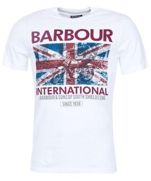 Men's Barbour International Hydro Tee - White