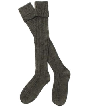 Men's Barbour Tweed Gun Stockings - Derby Tweed
