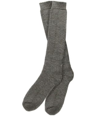 Men's Barbour Wellington Socks (knee length) - Derby Tweed