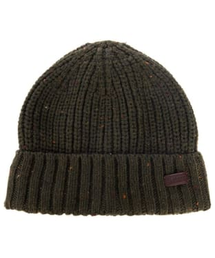 Men's Barbour Langley Beanie - Olive