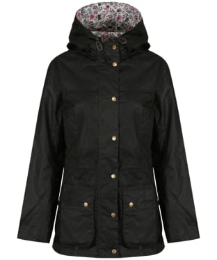 Women's Barbour Liberty Edenham Lined Durham Waxed Jacket