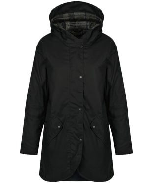 Women's Barbour Coll Wax Jacket - Navy