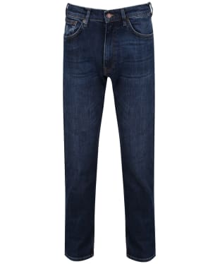 Men's GANT Regular Fit Jeans - Dark Blue Worn In