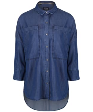 Women's Barbour International Hopnel Shirt - Chambray