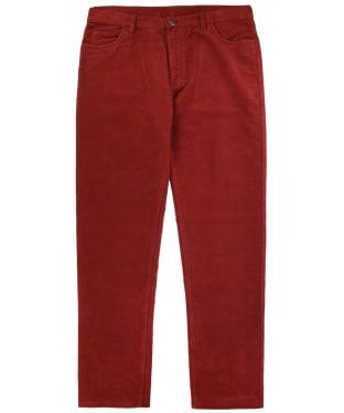 Men's Ptarmigan Stonecutter Moleskin Trousers - Claret