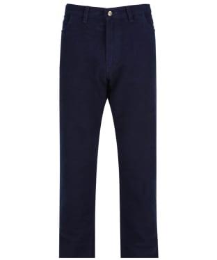 Men's Ptarmigan Stonecutter Moleskin Trousers - Midnight