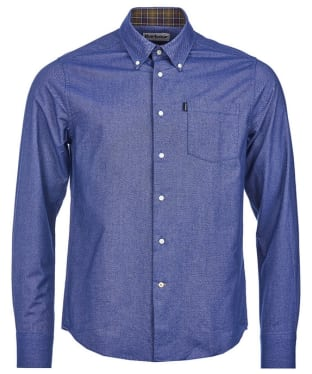 Men's Barbour The Oxford Tailored Fit Shirt - New Navy