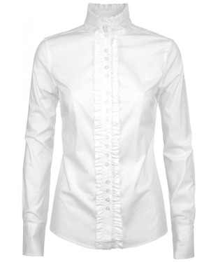 Women's Dubarry Chamomile Country Shirt - White