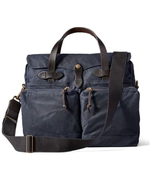 Men's Filson 24-Hour Tin Briefcase - Navy