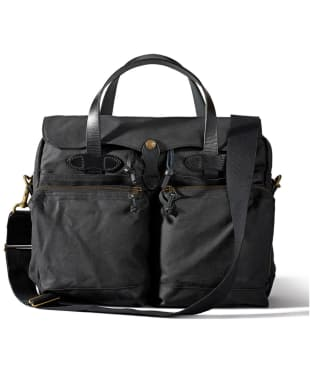 Men's Filson 24-Hour Tin Briefcase - Black