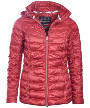 Women's Barbour Monar Quilt Jacket - Red