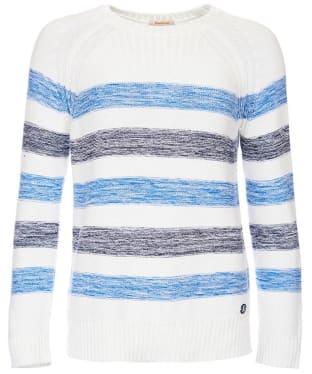 Women's Barbour Dock Knit Sweater - Blue Stripe