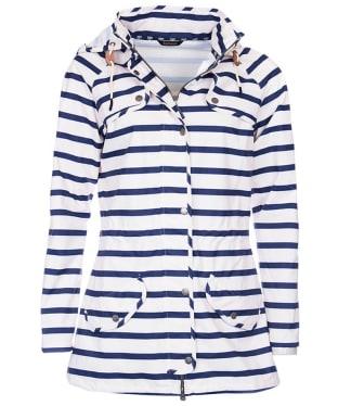 Women's Barbour Stripe Trevose Waterproof Jacket