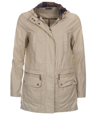 Women's Barbour Asiatic Lily Parka - Sand