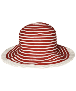 Women's Barbour Sealand Sun Hat - Red Stripe
