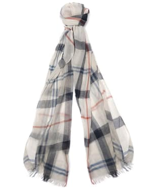 Women's Barbour Summer Dress Wrap - Cream / Navy