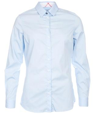 Women's Barbour Creran Shirt - Pale Blue