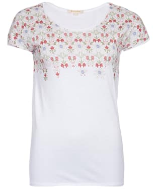 Women's Barbour Daffodil Tee - White