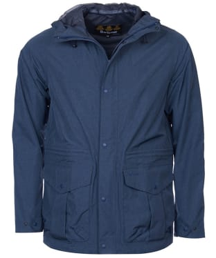 Men's Barbour Mull Waterproof Jacket - Navy Marl