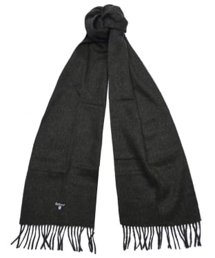 Barbour Plain Lambswool Scarf - Seaweed