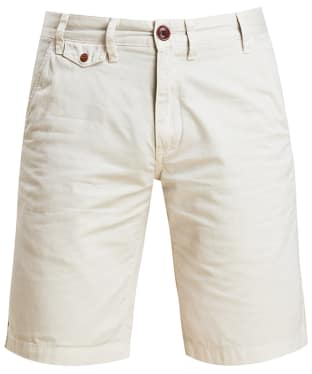 Men's Barbour Neuston Twill Shorts - Light Stone